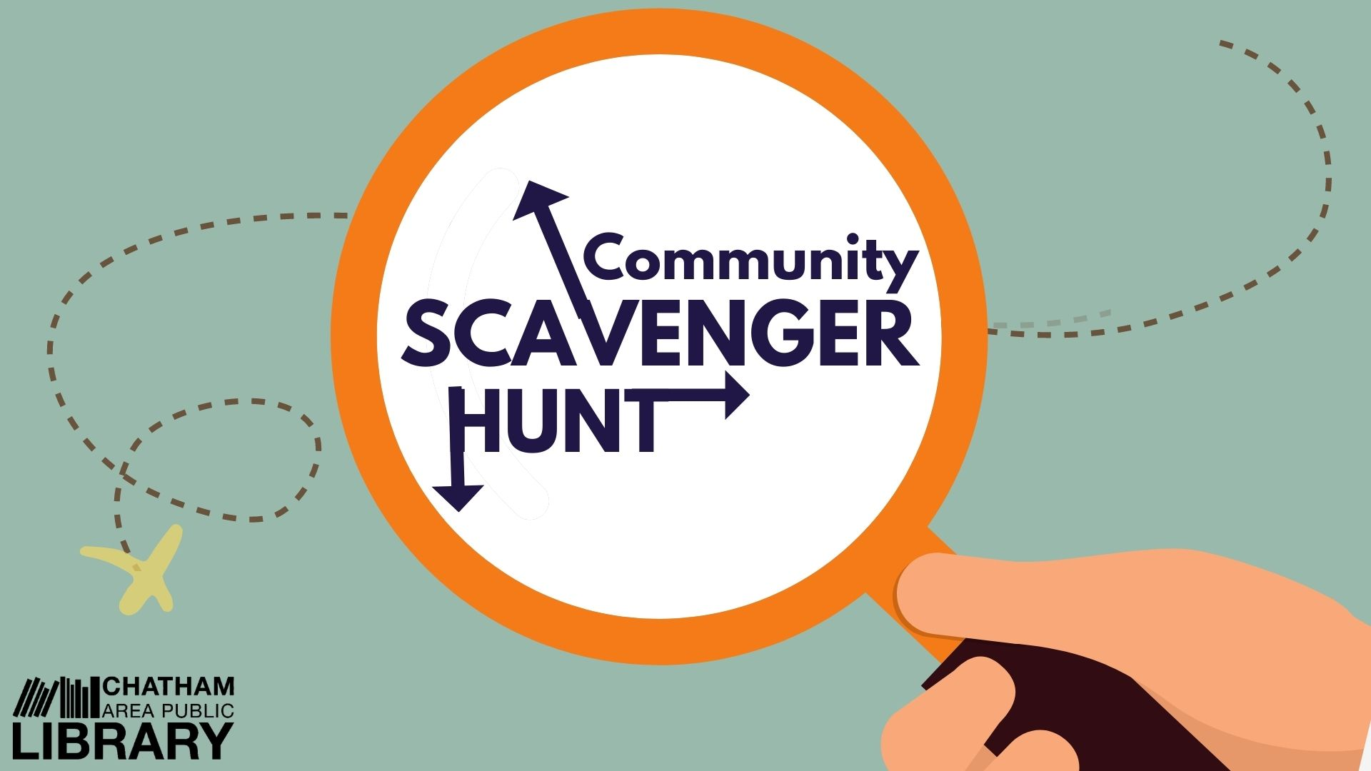 The Library invites you to participate in a Community Scavenger Hunt!