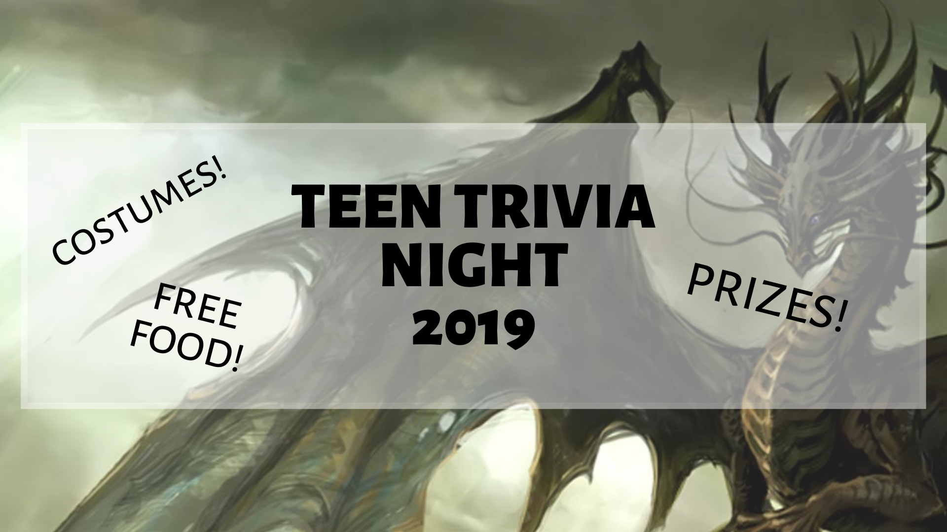 Chatham Area Public Library Teen Trivia Winners Announced!