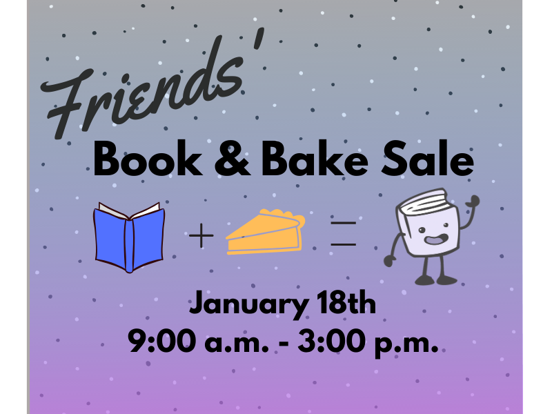 Don't Miss the Friends' Winter Book and Bake Sale at the Chatham Area Public Library!